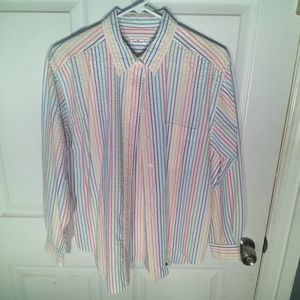 Talbots long sleeve multi-colored shirt